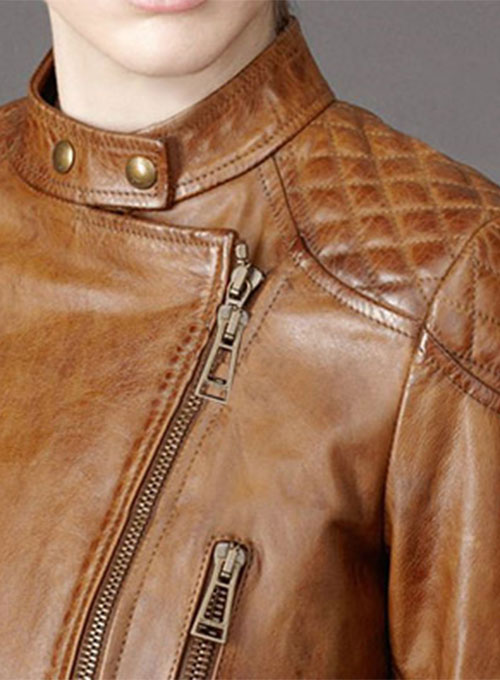 Leather Jacket # 516 - Click Image to Close