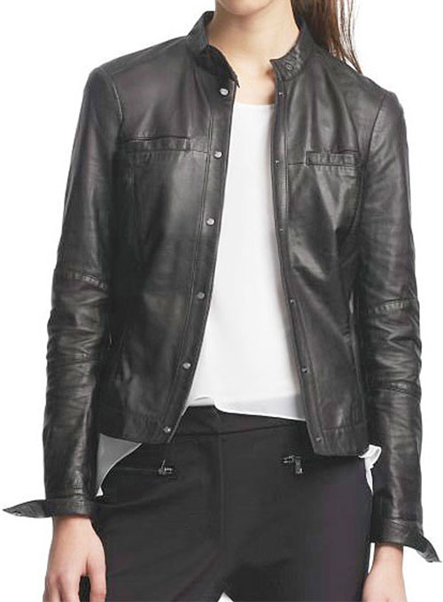Leather Jacket # 536