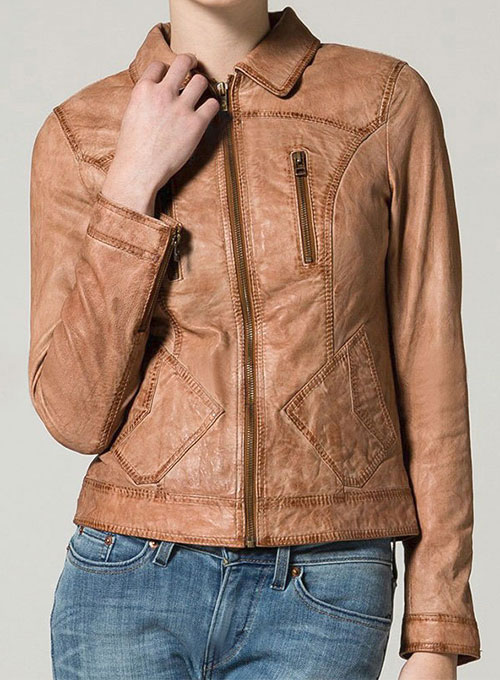 Leather Jacket # 537