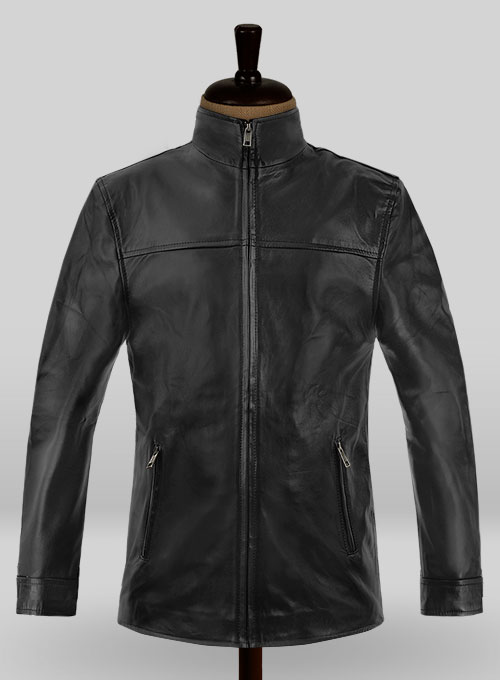 Leonardo DiCaprio The Departed Leather Jacket - Click Image to Close