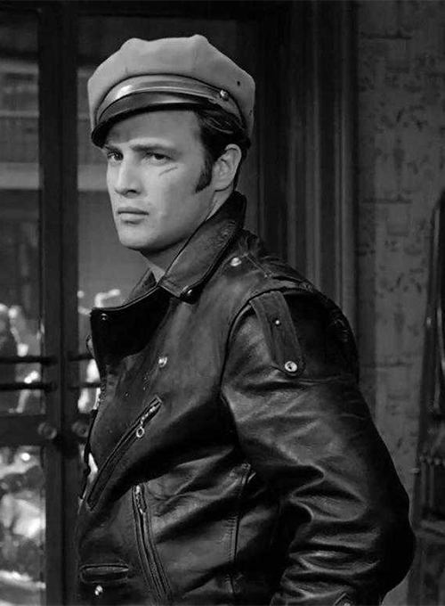 Marlon Brando The Wild One Leather Jacket