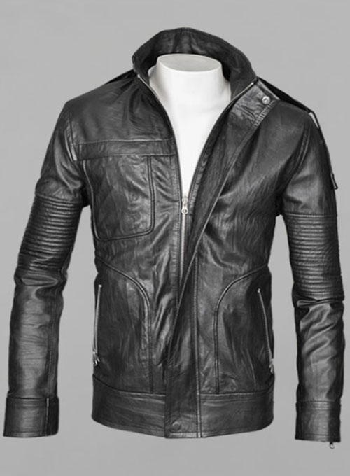 Mission Impossible Ghost Protocol Leather Jacket - Click Image to Close