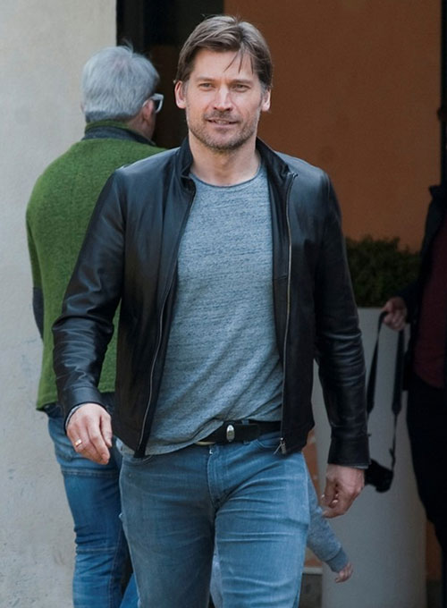 Nikolaj Coster Waldau Leather Jacket