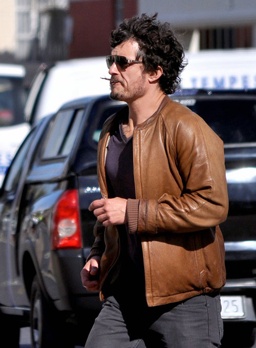 Orlando Bloom Zulu Leather Jacket