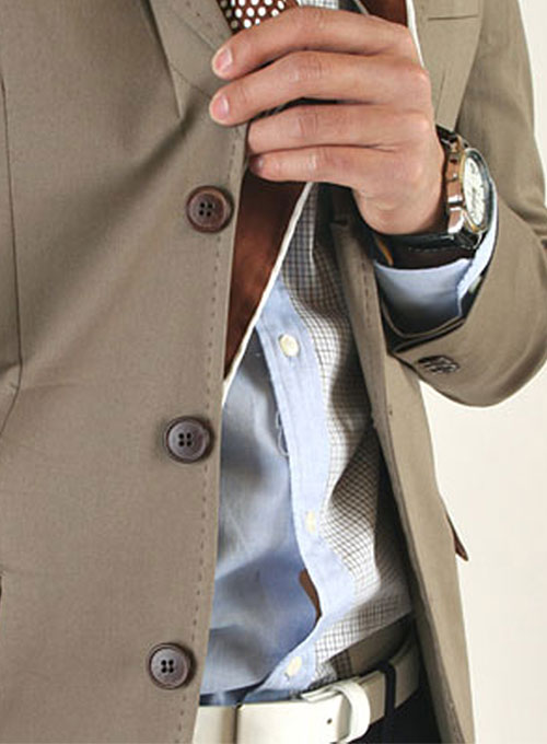 Classic Hand Pick Stitched Jacket