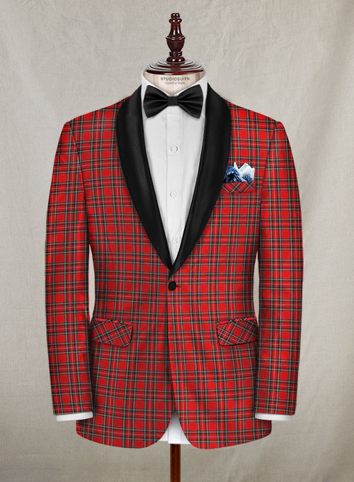 Plaid Tuxedo Jacket Makeyourownjeans 174 Made To Measure