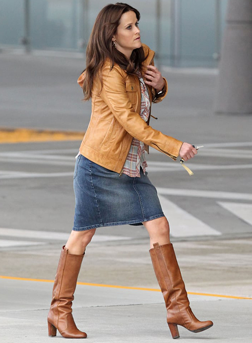 Reese Witherspoon The Good Lie Leather Jacket