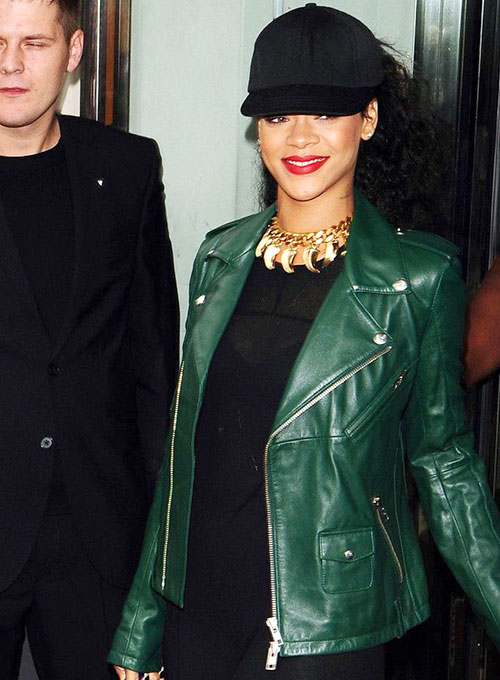 Rihanna Leather Jacket #1