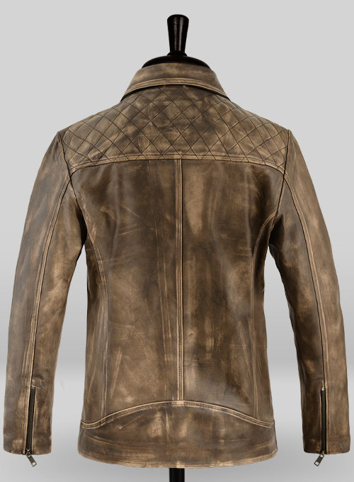 Roger Timber Leather Jacket - Click Image to Close