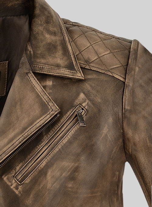 Roger Timber Leather Jacket