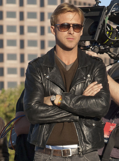 Ryan Gosling Song To Song Leather Jacket