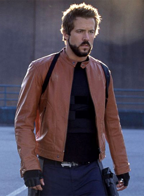 Ryan Reynolds Blade: Trinity Leather Jacket