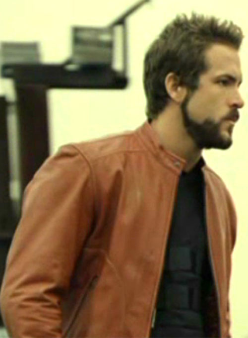 Ryan Reynolds Blade: Trinity Leather Jacket - Click Image to Close