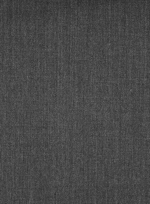Scabal Carbon Gray Wool Jacket - Click Image to Close