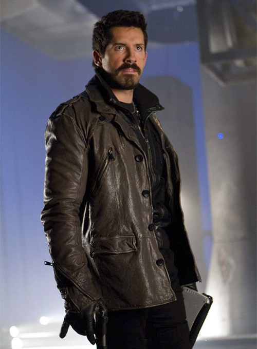 Scott Adkins The Expendables 2 Leather Jacket