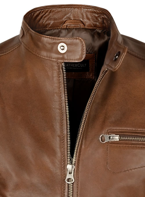 Scott Eastwood Overdrive Leather Jacket - Click Image to Close