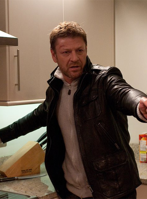 Sean Bean Cleanskin Leather Jacket
