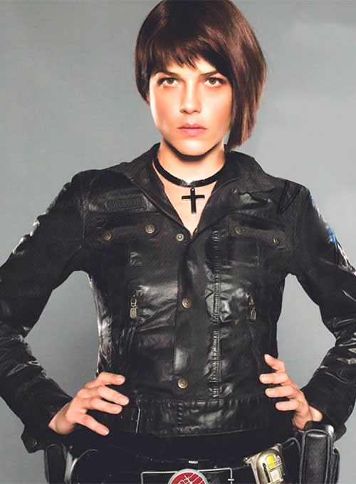 Selma Blair Hellboy 2 The Golden Army Leather Jacket