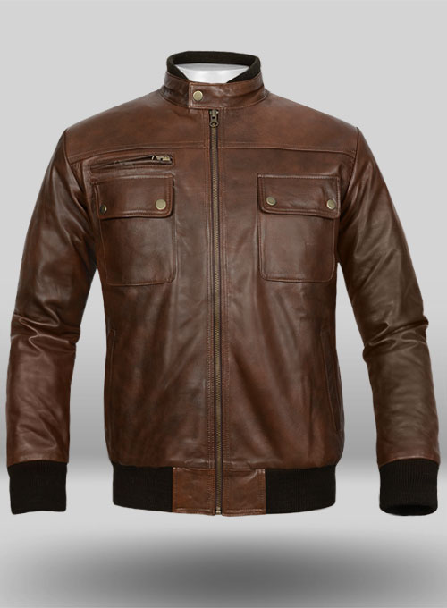Spanish Brown Leather Jacket # 94  MakeYourOwnJeansu00ae Made To Measure Custom Jeans For Men ...