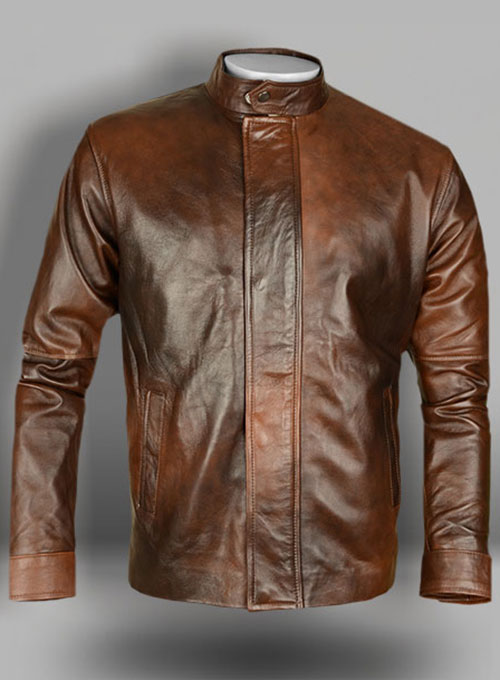 Spanish Brown Californication Season 3 Leather Jacket  MakeYourOwnJeansu00ae Made To Measure ...