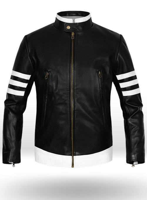 Color Changing Shirts >> Thick Black X-Men Origins Wolverine Leather Jacket ...