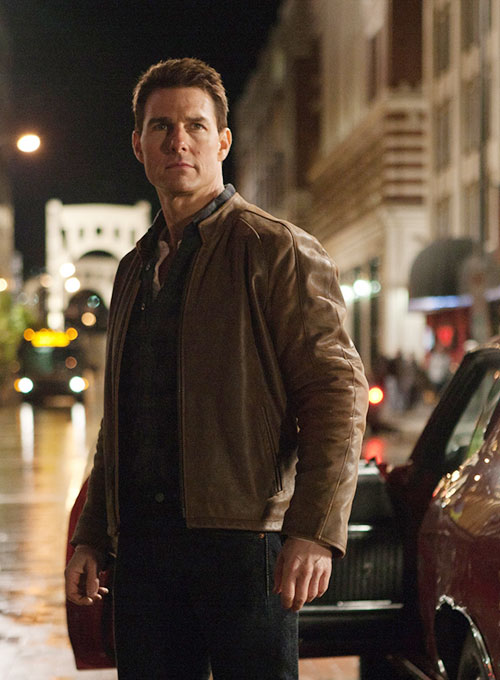 Tom Cruise Jack Reacher Leather Jacket
