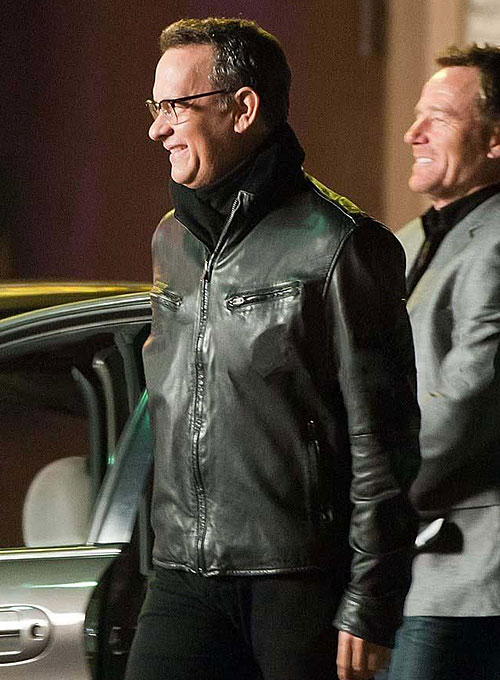 Tom Hanks Larry Crowne Leather Jacket