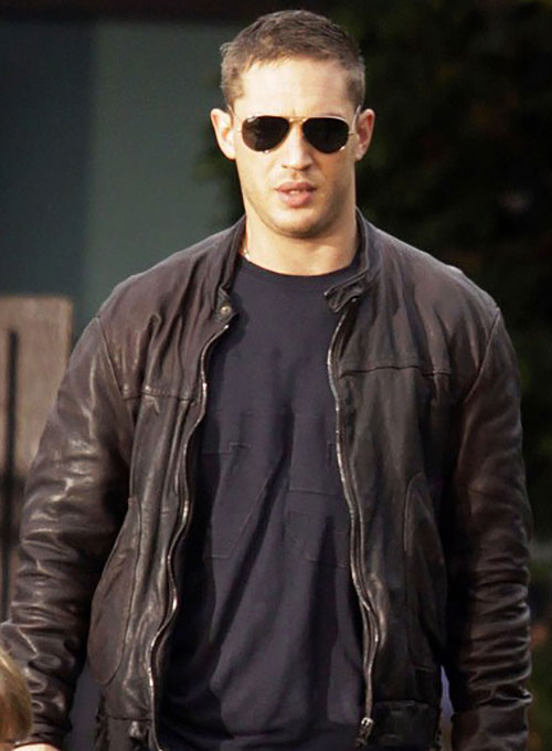 Tom Hardy This Means War Leather Jacket