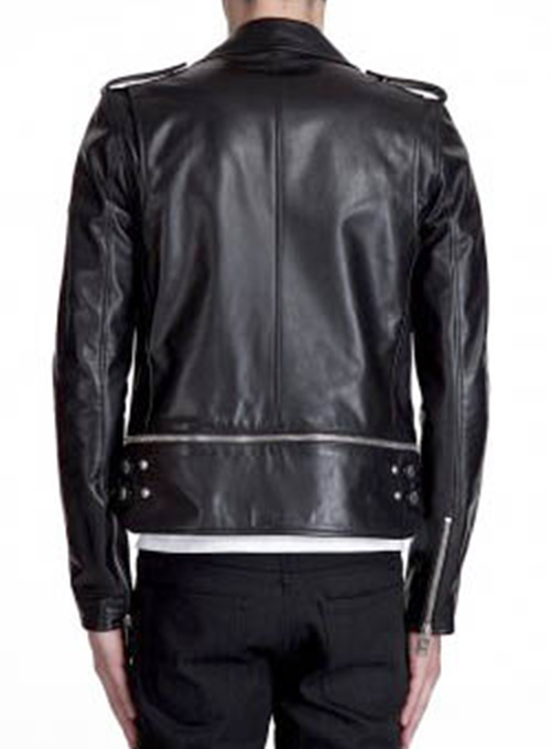 Trooper Biker Leather Jacket - 50 Colors