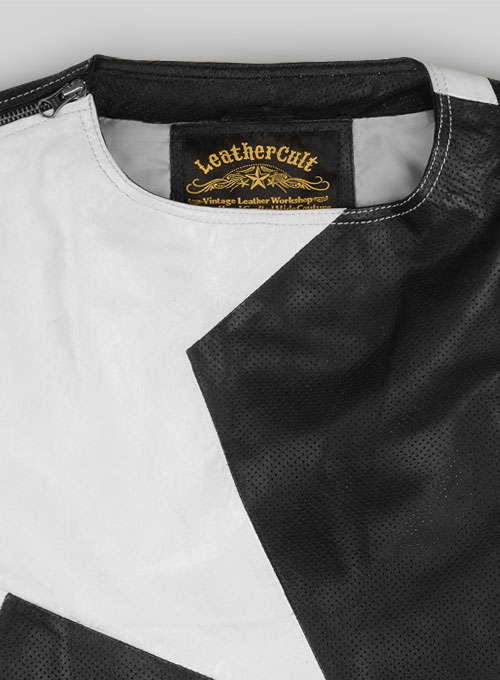 Victor Leather T-Shirt - Click Image to Close