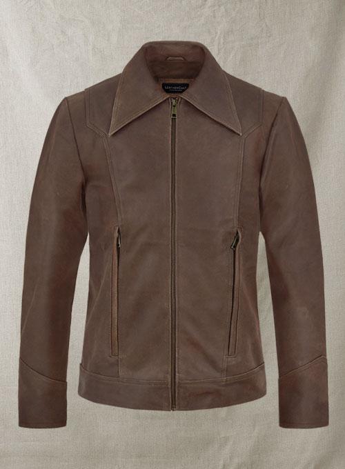 Vintage Brown Leather Jacket X Men Days Future Past