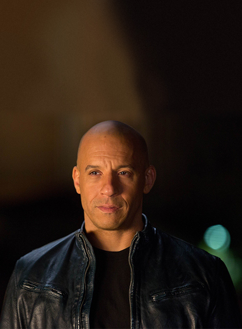 Vin Diesel Fast And Furious 6 Leather Jacket - Click Image to Close