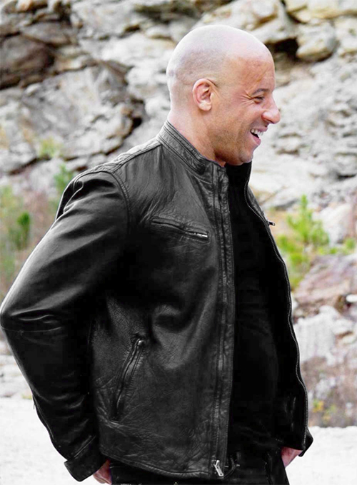 Vin Diesel Fast And Furious 6 Leather Jacket