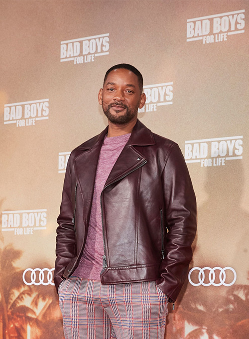 Will Smith Bad Boys For Life Premiere Leather Jacket