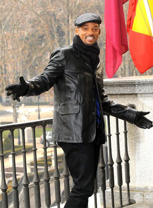 Will Smith Leather Blazer - Click Image to Close