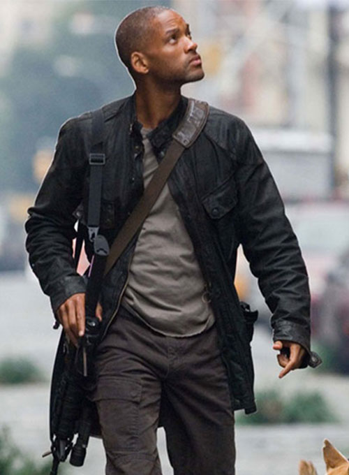 Will Smith I am Legend Leather Jacket