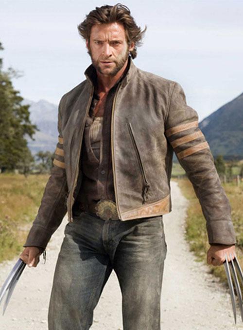 X Men Origins Wolverine Leather Jacket X Men Origins