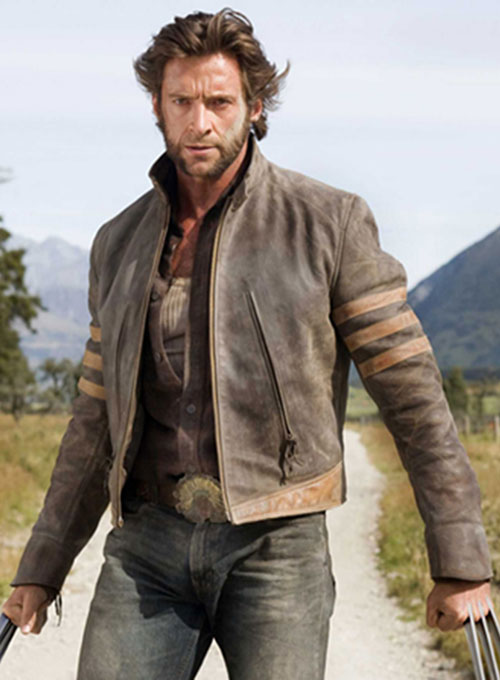 X Men Origins Wolverine Leather Jacket X Men Origins