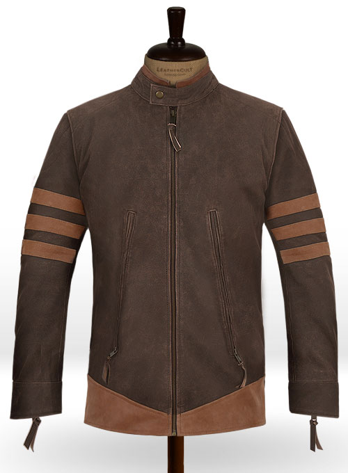X - Men Origins Wolverine Leather Jacket