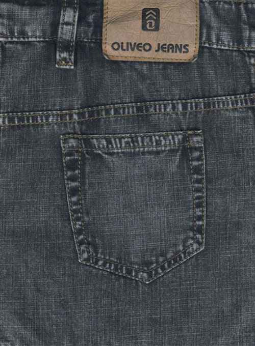 6oz Feather Light Weight Jeans - Blast Wash