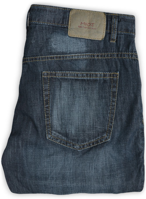 6oz Feather Light Weight Jeans - DenimX Blue