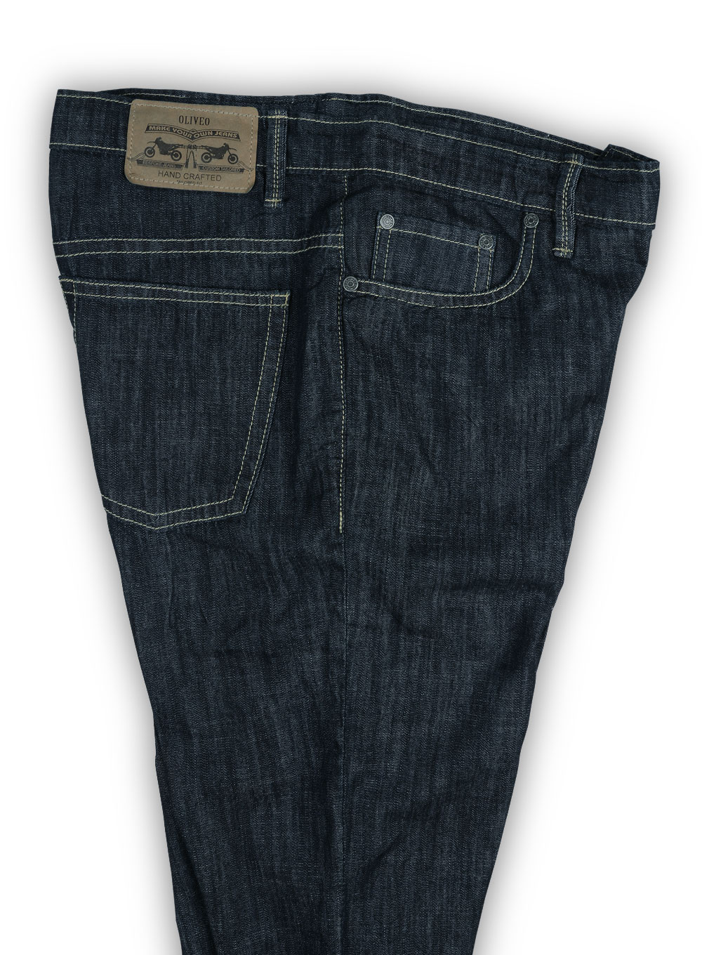 6oz Feather Light Weight Jeans Hard Wash