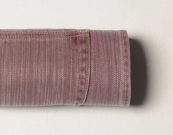 Hazy Light Purple Drill Denim - Enzyme Wash
