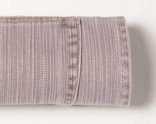 Hazy Light Purple Drill Denim - Blast Wash