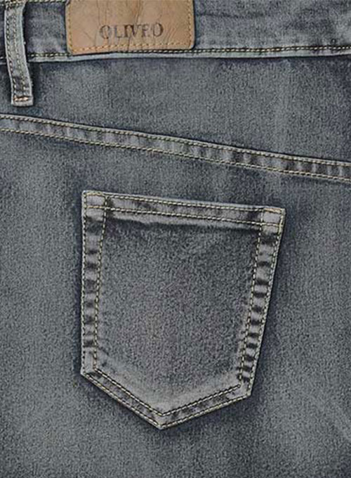 Adam Eve Hugger Stretch Jeans - Vintage Wash