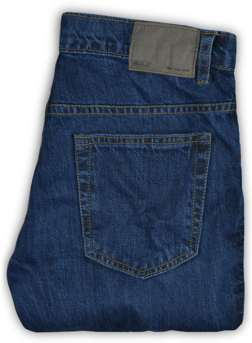 Archer Blue Denim-X Wash Jeans - Click Image to Close