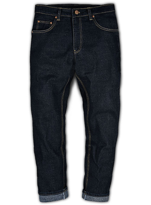 Arena Blue Hard Wash Stretch Jeans