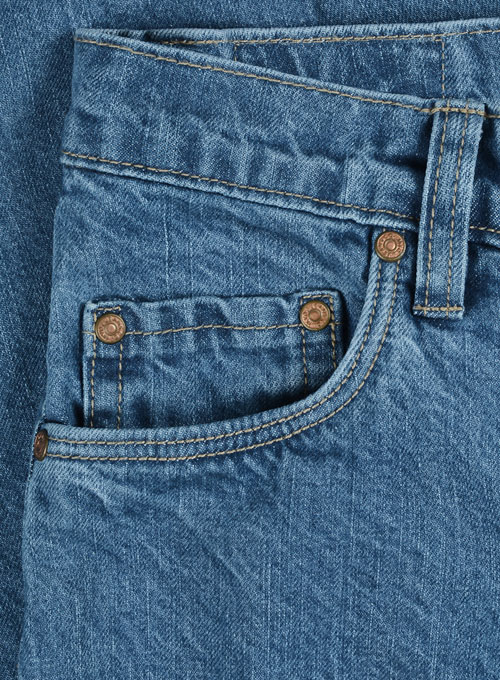 Aston Blue Stone Wash Jeans