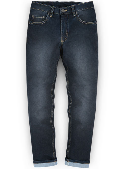 Astro Blue Stretch Jeans Scrape Wash Makeyourownjeans
