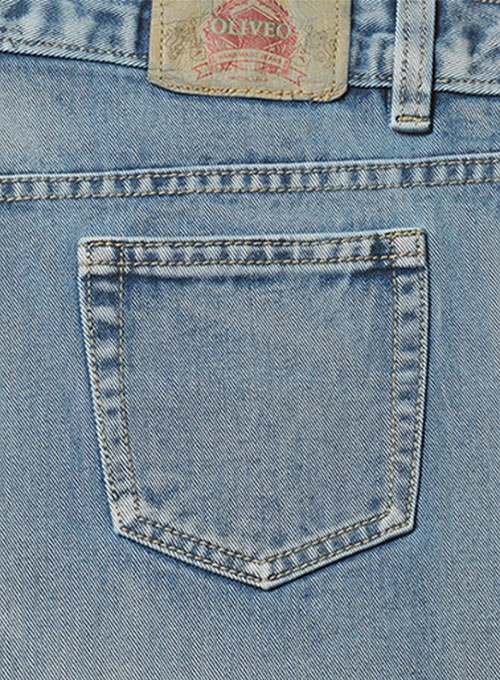 Authentic Left Hand Twill Denim - Vintage Wash
